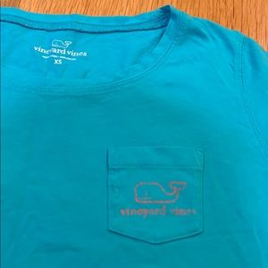 Vineyard Vines Dresses - Vineyard Vines XS Short-Sleeve Aqua  🐳 Cover-Up